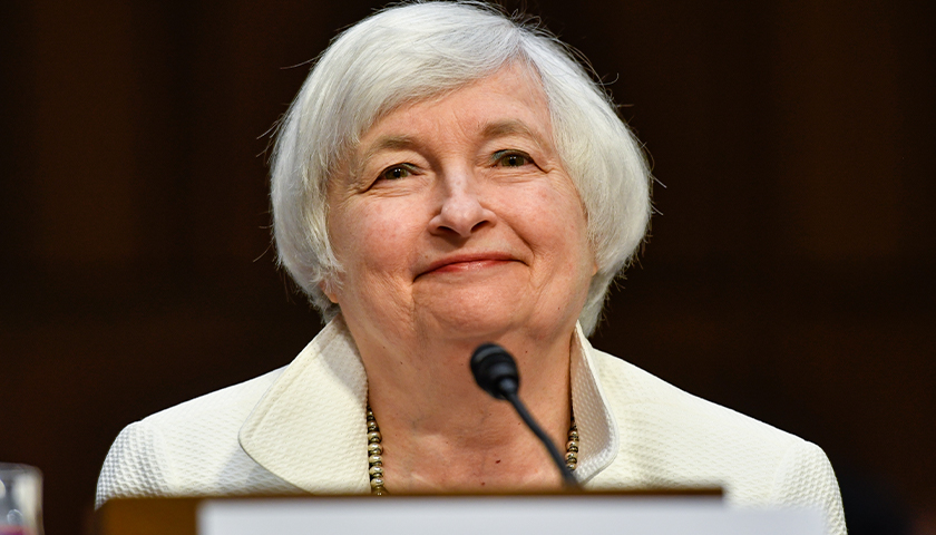 Yellen: U.S. Will Be out of Money in October If Congress Doesn't Raise Debt Ceiling