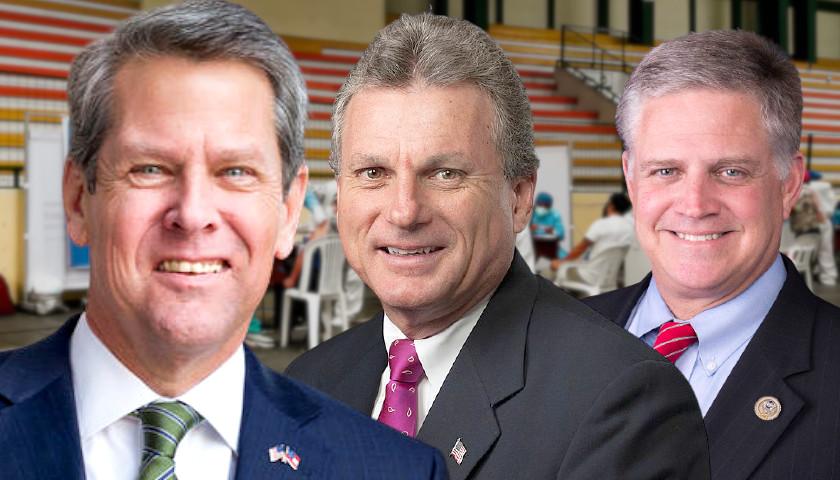 Georgia's GOP Congresspersons, Along with Pro-Vaccine Governor, Resist Biden's Vaccine Mandate