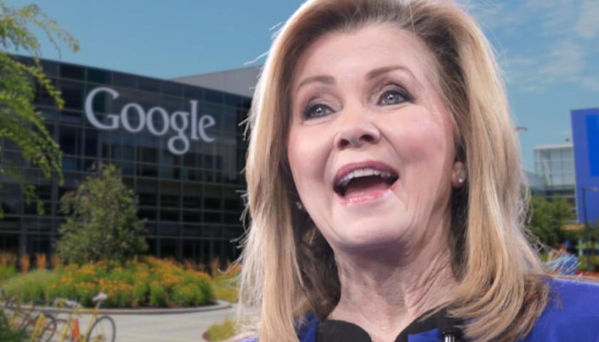 Senator Marsha Blackburn Demands Google Reverse Censorship of Pro-Life Advertisements