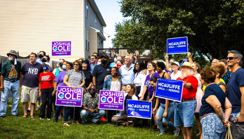 'Moderate' McAuliffe Campaigns with Anti-Police Virginia State Delegate
