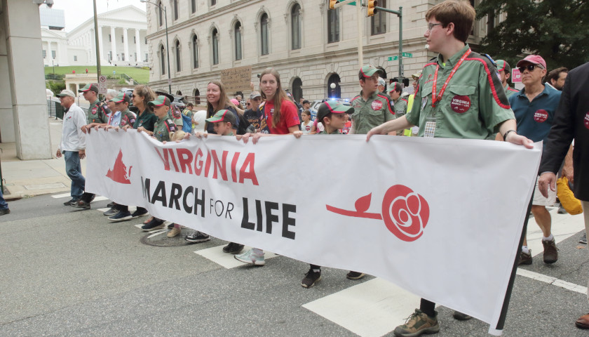 Virginia March for Life Kicks off Early Voting