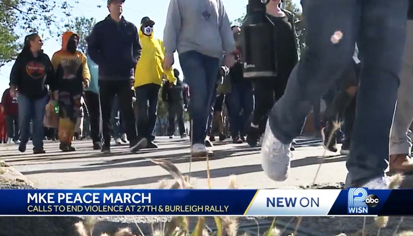 'Citywide Intergenerational Peace March' Held in Milwaukee