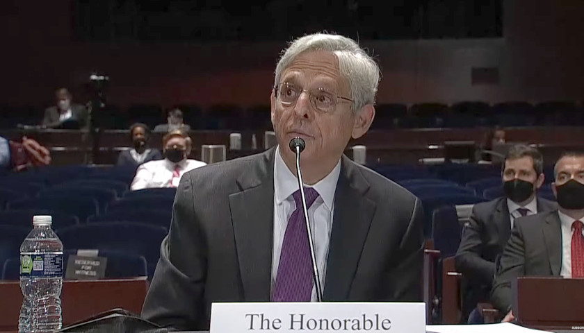 Attorney General Garland Denies Knowledge of Claims that Zuckerberg 'Bought' 2020 Election