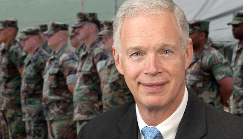 Wisconsin Sen. Johnson Questions Use of COVID Vaccines for Military